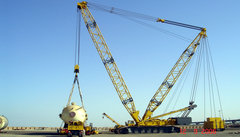 Lattice Boom Cranes Crawler